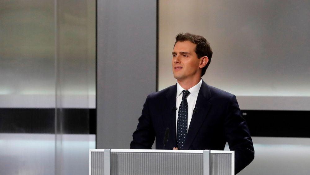 Albert Rivera en el debate electoral de las elecciones generales 2019