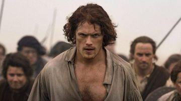 Sam Heughan en 'Outlander'
