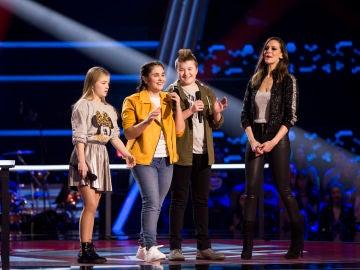 Isabel Marsal es salvada por Vanesa Martín y Pastora Soler en las Batallas de 'La Voz Kids'