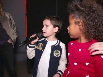 El desparpajo de Daniel, Yolaini y Abel sorprende en la 'Batalla de los pequeños' de 'La Voz Kids'