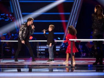 David Bisbal canta 'Perdón' con Abel Bernal en las Batallas de 'La Voz Kids'