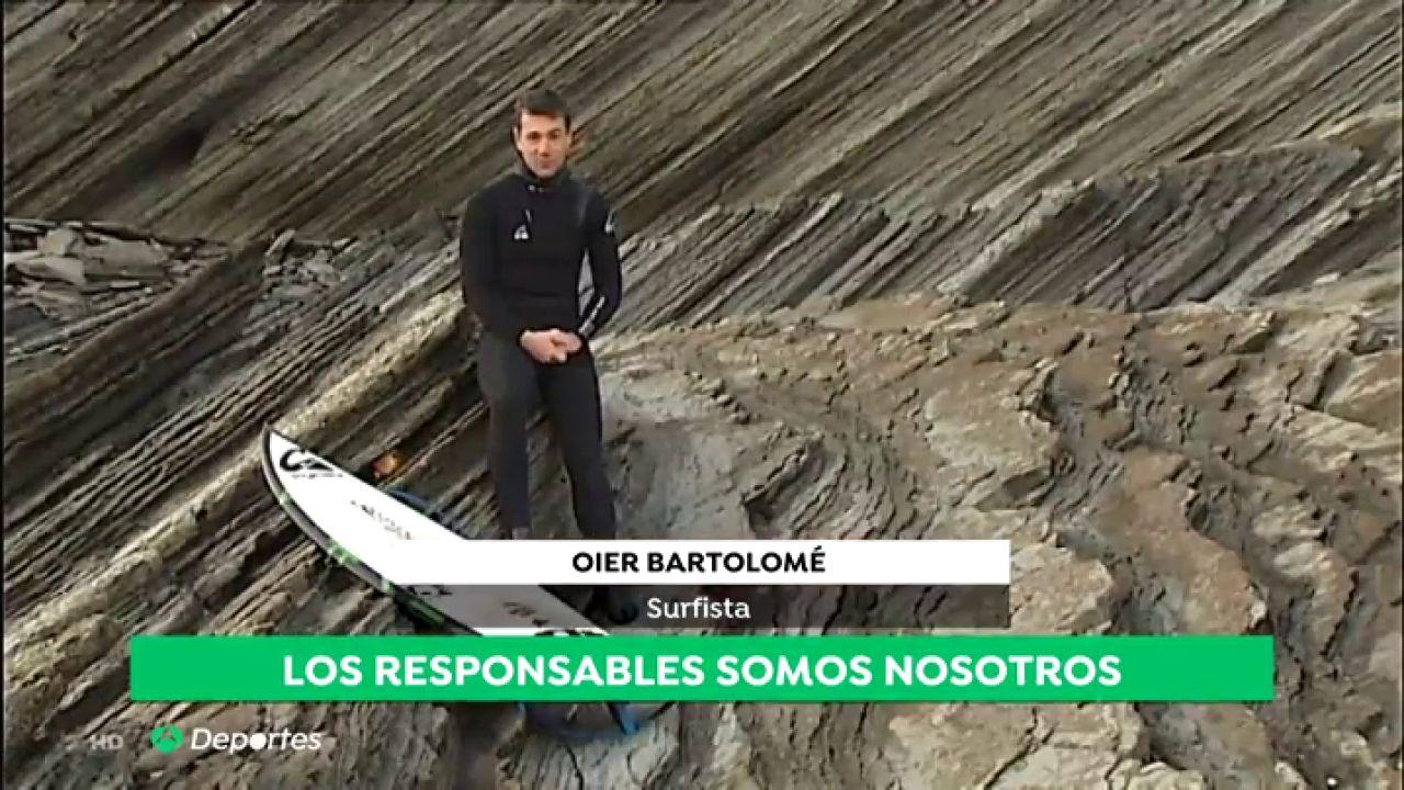 Los Deportistas Del Mar Denuncian El Problema Del Plástico