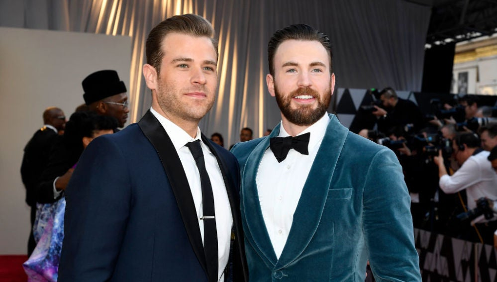 Scott y Chris, los hermanos Evans