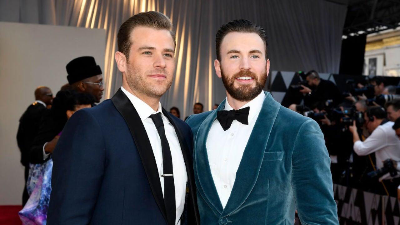 Chris Evans le rapa el pelo a su hermano Scott en cuarentena y ahora no sabrás quién es Capitán América