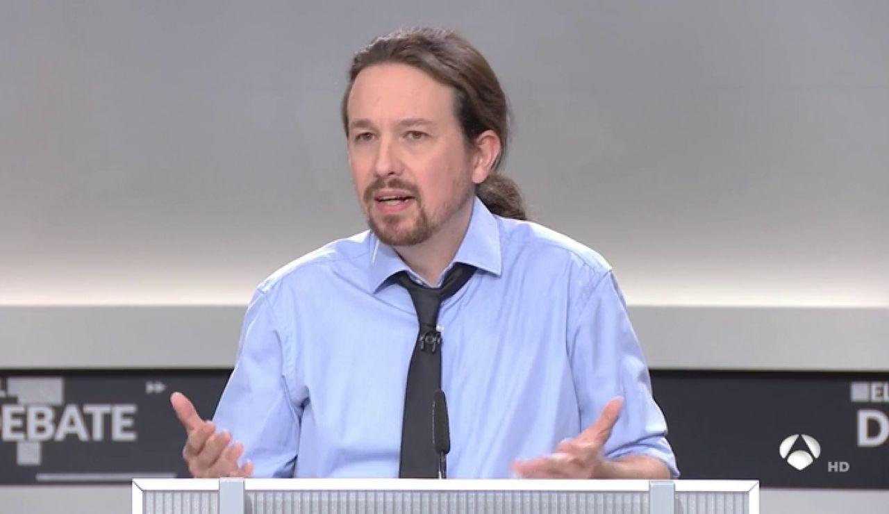"""Pablo Iglesias: """"Nosotros proponemos hacer los recortes por arriba"""""""