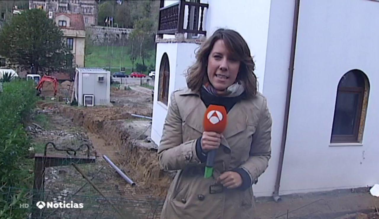 Muere un trabajador al derrumbarse un muro en Comillas