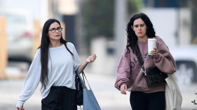 Demi Moore y su hija Rumer Willis