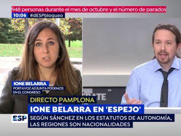 Ione Belarra.