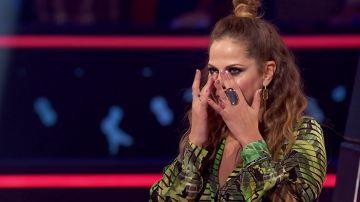 Los coaches lloran emocionados tras la actuación de Yolaini Viñas, Abel Bernal y Daniel García en las Batallas de 'La Voz Kids'