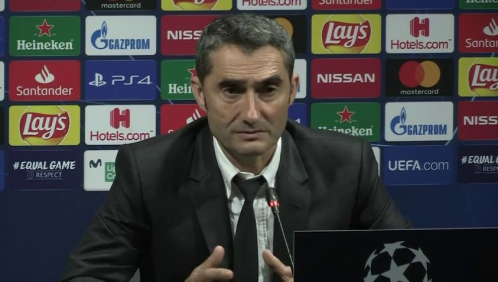 """Valverde: """"Griezmann se está adaptando, pero nos ayuda mucho en defensa"""""""