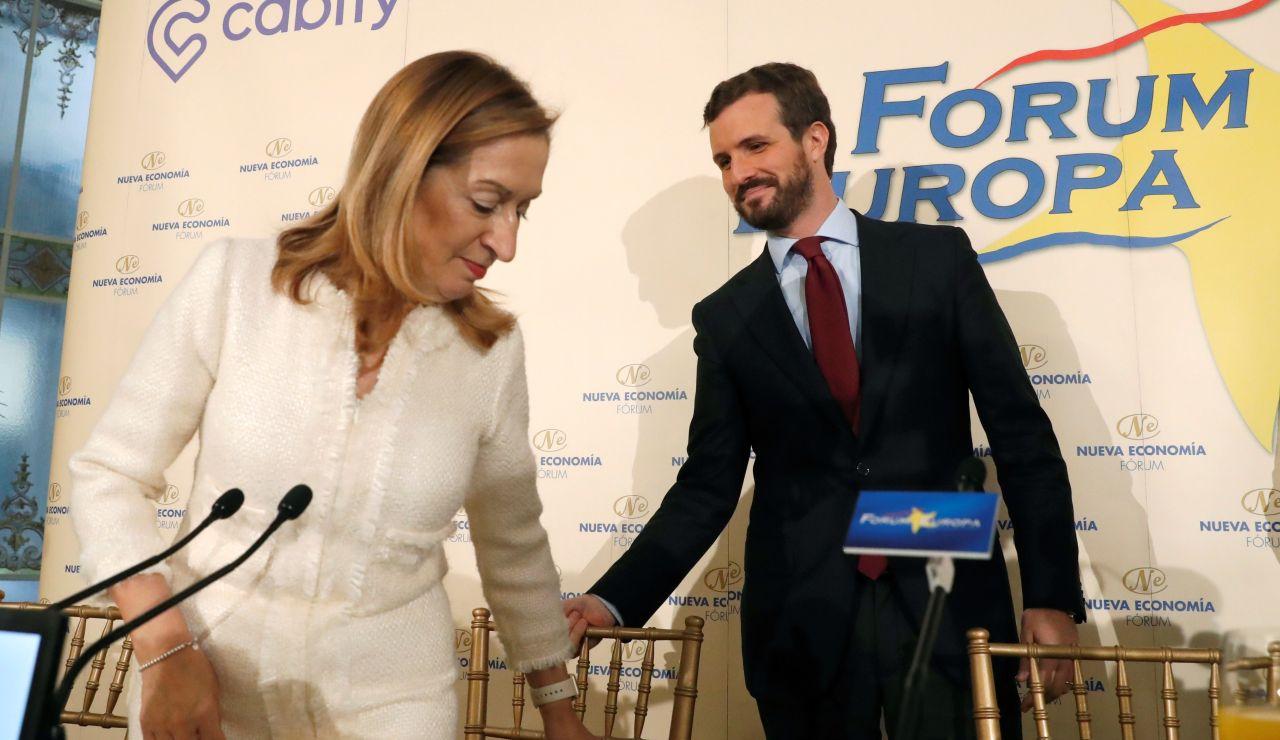 Pablo Casado y Ana Pastor