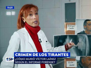 La autopsia de Victor Laínez.