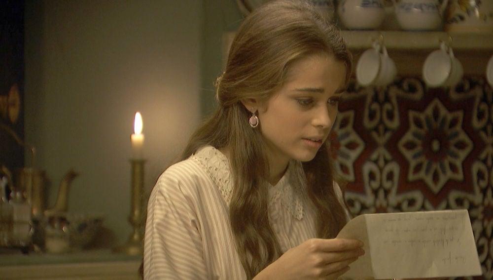 Avance 'El secreto de Puente Viejo': Carolina recibe la esperada carta de Pablo