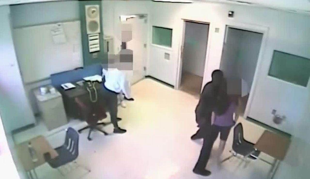 Abuso policial en una escuela de Florida