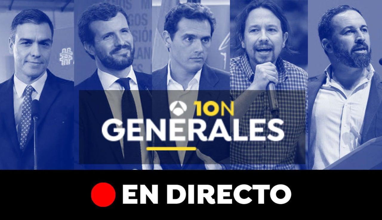 Elecciones generales 2019: Candidatos, campaña electoral, sondeos y última hora en directo