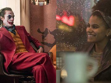 Joaquin Phoenix y Zazie Beetz en 'Joker'