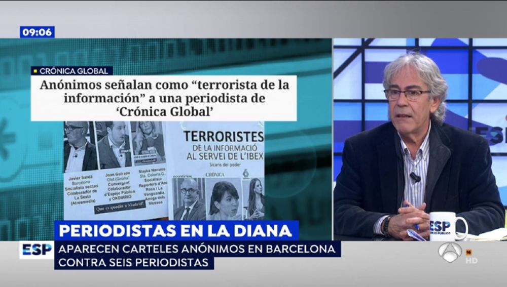 El periodista Toni Bolaño
