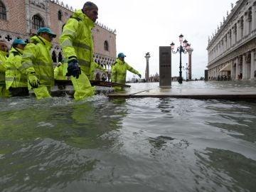 Imagen de las inundaciones en Venecia