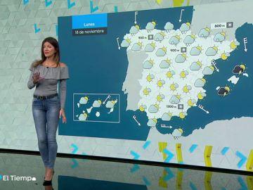 Un nuevo temporal dejará lluvias en casi toda España la próxima semana