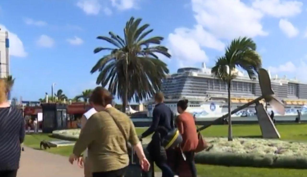 Crucero en Canarias