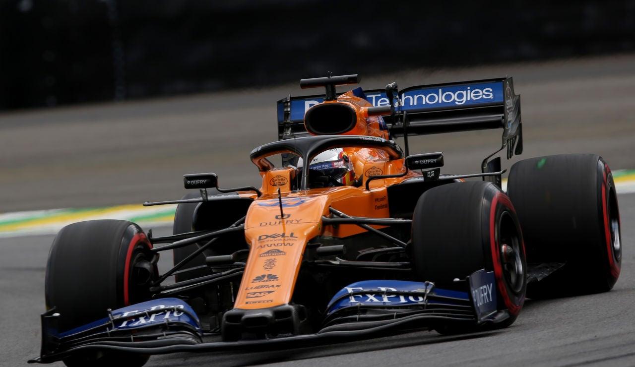 Carlos Sainz, durante el GP de Brasil