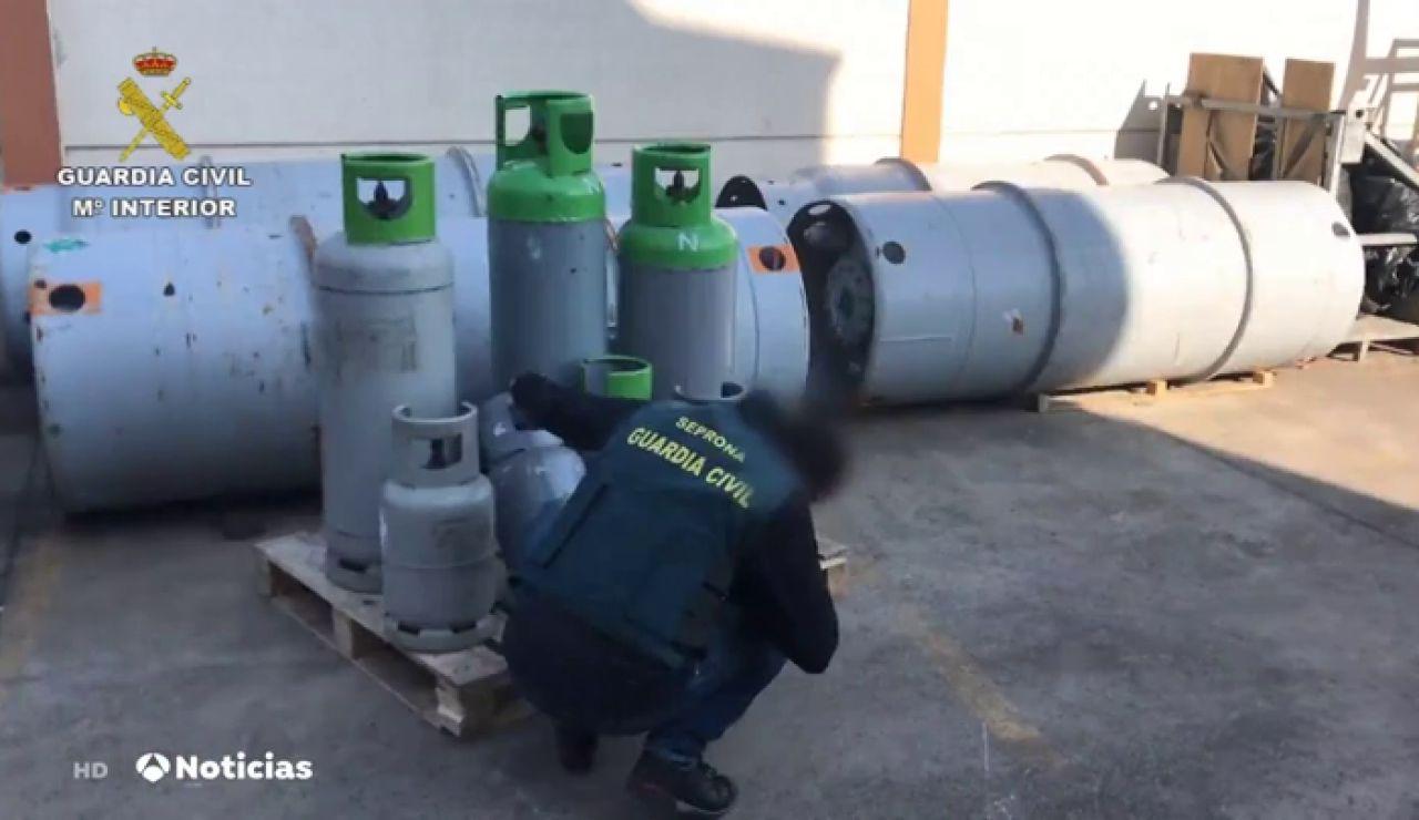 GUARDIA CIVIL GAS