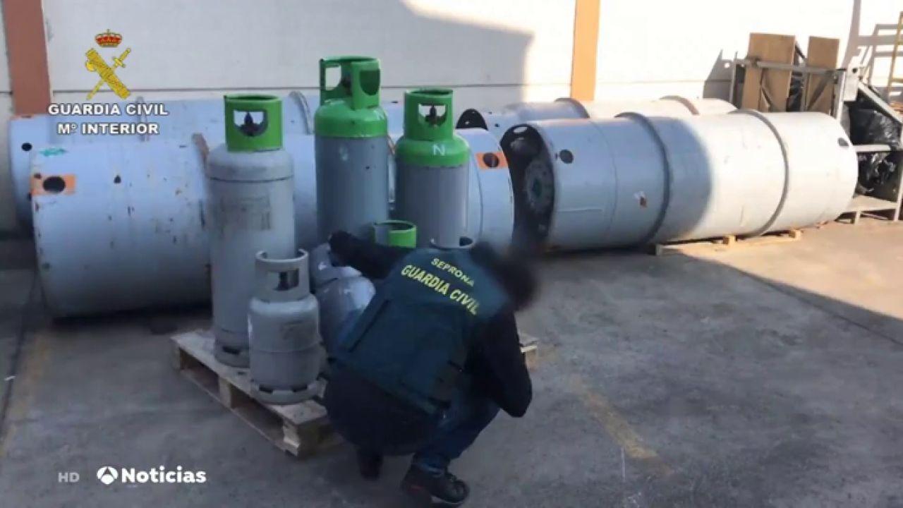 Comercializan el excedente de un gas prohibido en la Unión Europea en países en vía de desarrollo - Antena 3 Noticias
