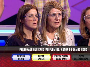 Las 'Supernenas', con 'permiso para acertar' una pregunta relacionada con James Bond en '¡Boom!'
