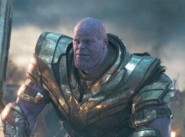 Thanos en 'Vengadores: Endgame'