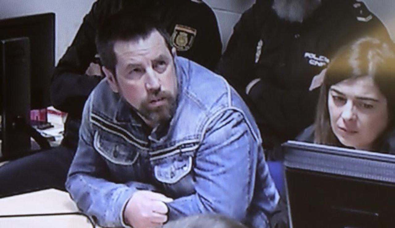 'El Chicle' durante el juicio por el asesinato de Diana Quer