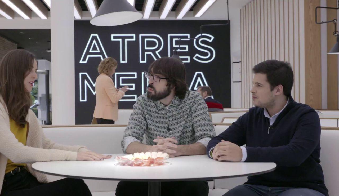 La visita de los ganadores de ELPOZO a Atresmedia