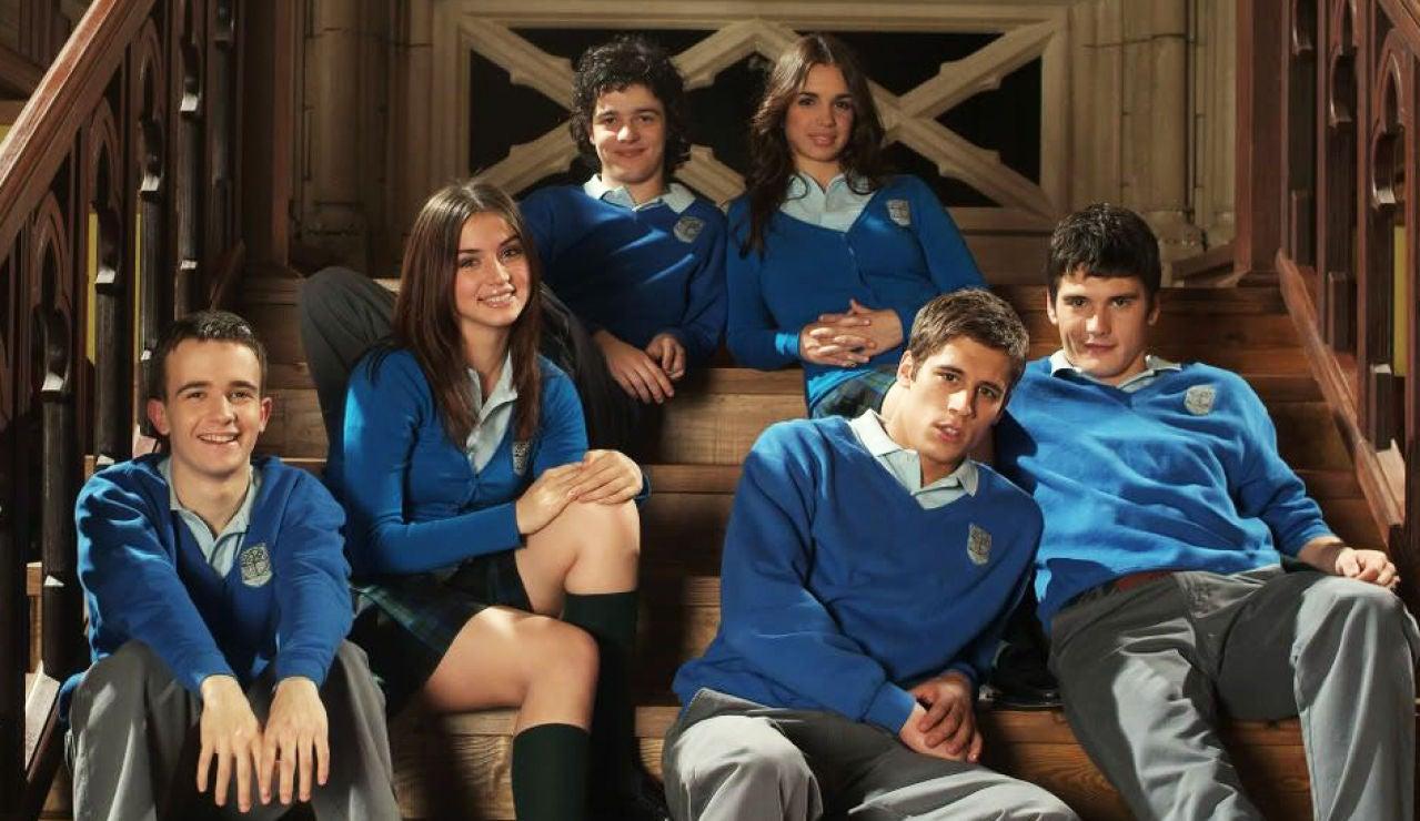 Los protagonistas de 'El Internado'