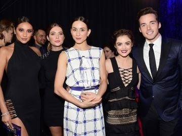 Los protagonistas de 'Pretty Little Liars'