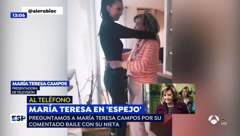 María Teresa Campos confirma que estará en el estreno de 'Arusitys Prime' junto a su hija Terelu