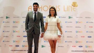 Miguel Torres y Paula Echevarria