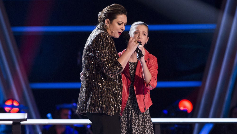 El martes, una versión única de 'Cai' con la Niña Pastori y una de las talents el último Asalto de 'La Voz Kids'