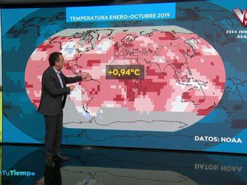 España registra el octubre más cálido desde 1880 debido al calentamiento global