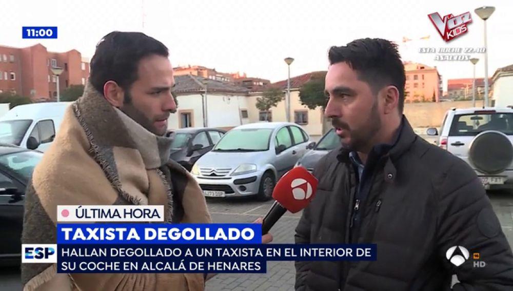 Taxista degollado en Alcalá de Henares.