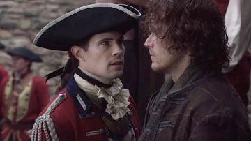 David Berry y Sam Heughan en 'Outlander'