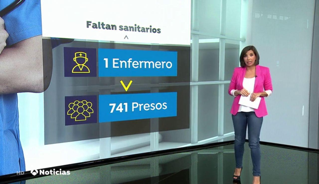 Un enfermero atiende a 741 presos durante 17 horas en una cárcel de León