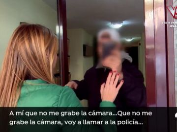 La mafia okupa de Pedrezuela se enfrenta a un equipo de 'Espejo Público'