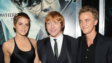 Emma Watson, Rupert Grint y Tom Felton