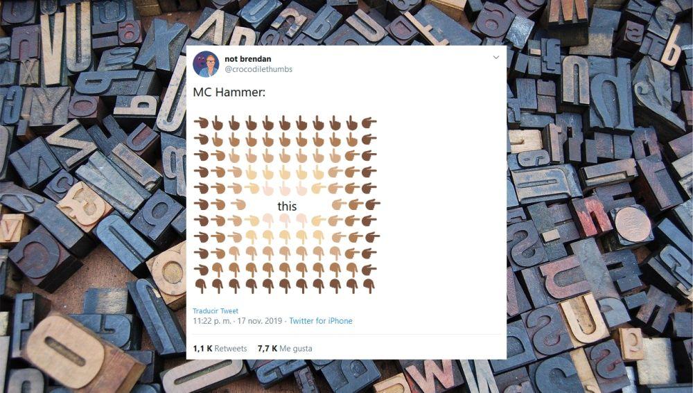 El meme de los emojis de las manos señalando