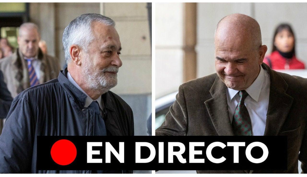 Sentencia de los ERE de Andalucía: Última hora, en directo