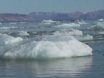 El hielo del ártico se reduce a niveles históricos