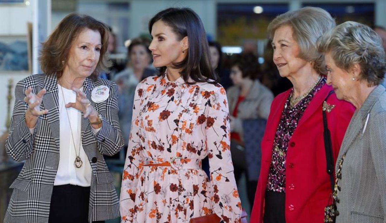 Las Reinas Letizia y Sofía
