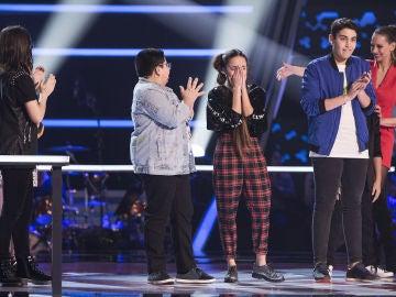 Sofía Esteban, Julio Gómez, Alan Brizuela y Sara Gálvez pasan a la Semifinal de 'La Voz Kids'