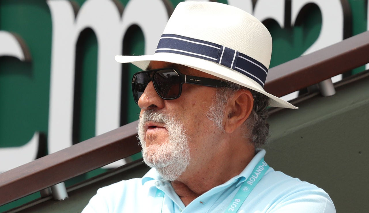 El extenista Ion Tiriac