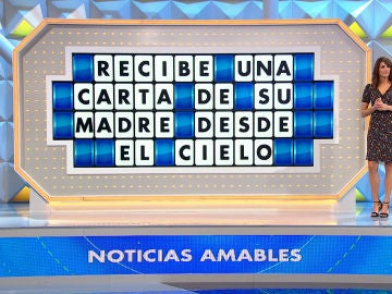 Jorge Fernández se emociona en 'La ruleta de la suerte' leyendo la carta que una niña recibió de su madre 'desde el cielo'