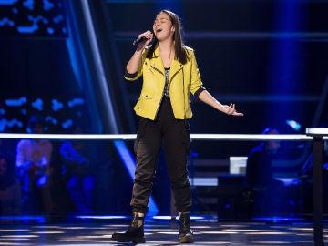 Actuación Alba Aguilar 'One and only' en los Asaltos de 'La Voz Kids'
